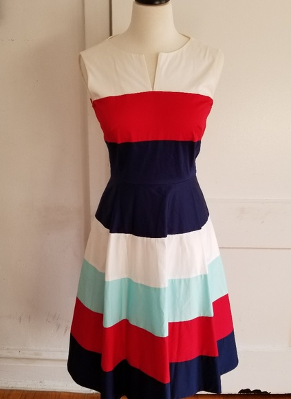 f90e5ed8d6 NWT Kate Spade color block Corley dress size 2